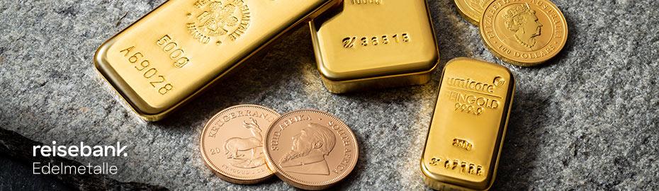 Edelmetalle Gold Silber